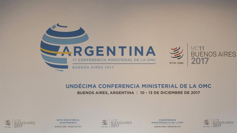 Ministerkonferenz in Buenos Aires: Russland fordert von WTO das Ende von Sanktionen im Welthandel