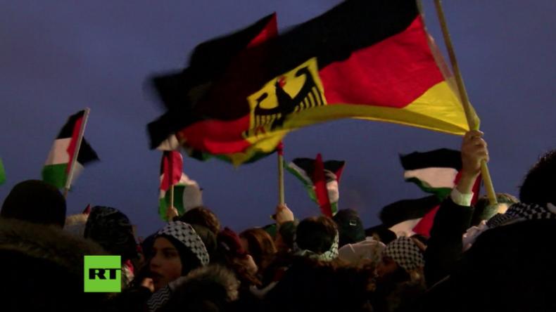 Berlin: Erneuter Protest gegen US-Anerkennung von Jerusalem als israelische Hauptstadt