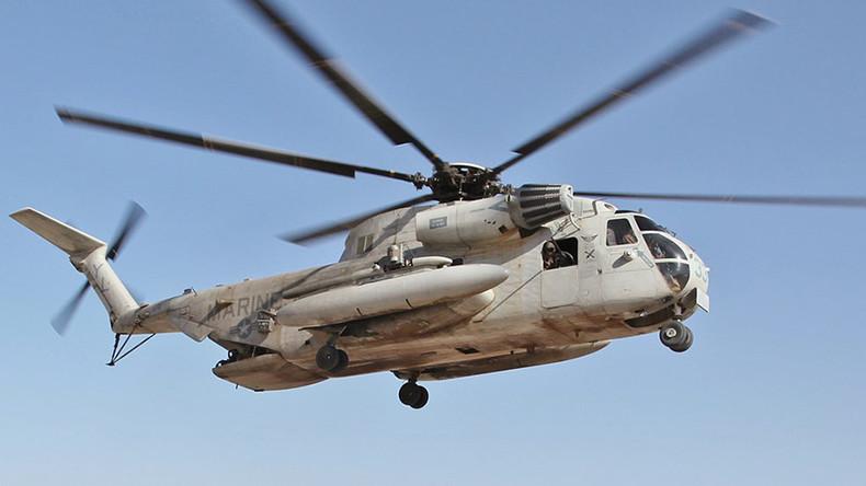 Unmut gegen US-Stützpunkt Okinawa: Militär-Helikopter verletzt  japanisches Schulkind