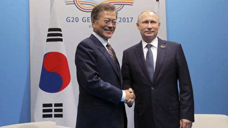 Südkorea setzt auf Russland, um Sanktionen gegen Nordkorea durchzusetzen
