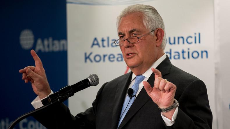 USA versuchen es mal mit Diplomatie: US-Außenminister Tillerson bietet Nordkorea Gespräche an