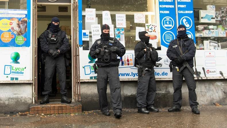 Razzien gegen Islamisten aus Amri-Umfeld in Berlin