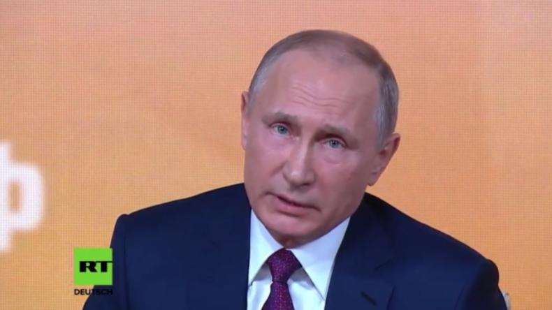 Putin: Sanktionen und Öl-Preisverfall taten Russland weh, aber jetzt sind wir stärker als je zuvor