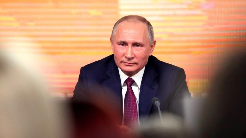 Putin: Ich werde bei den Präsidentschaftswahlen als unabhängiger Kandidat antreten