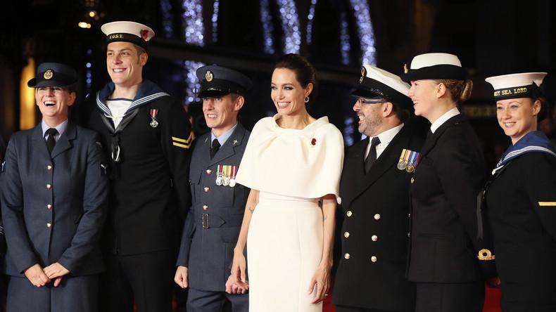 """NATO-Propaganda mit Angelina Jolie: """"Nato muss oberster Beschützer der Rechte der Frauen sein"""""""