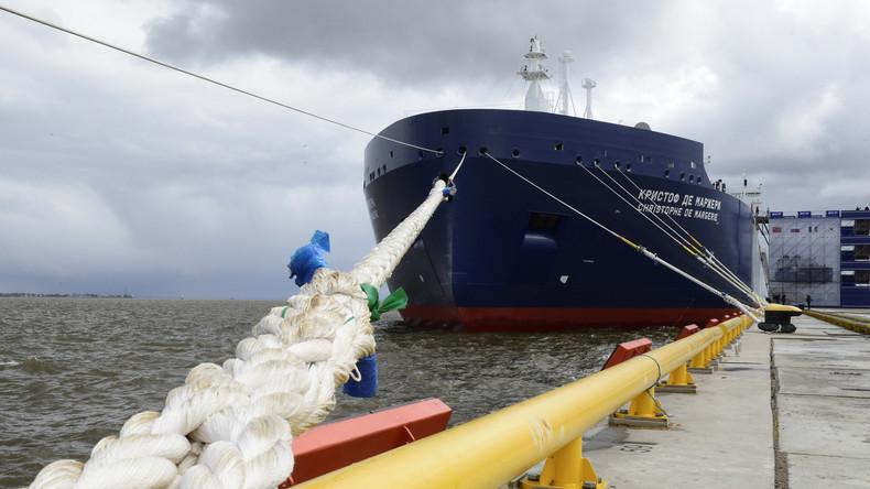 Frostbedingte Engpässe: Großbritannien kauft sanktioniertes russisches Gas aus Arktis