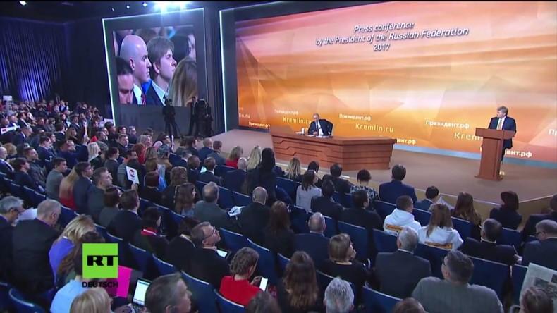 """Putin: """"IOC-Skandal wird mit Blick auf wichtige politische Ereignisse in Russland geschürt"""""""