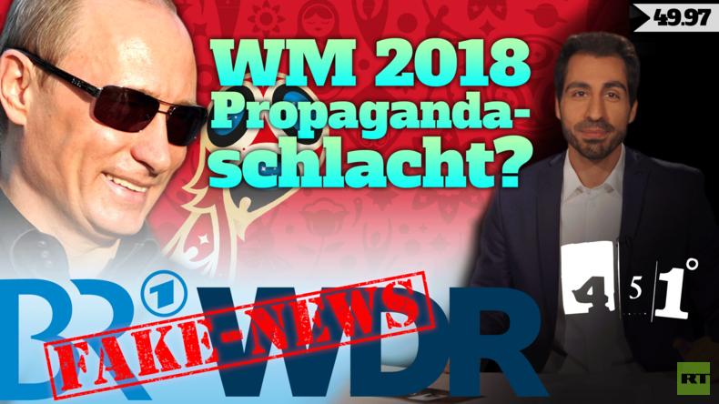 WDR BR Fake News | Putin WM-Propaganda | 451 Grad