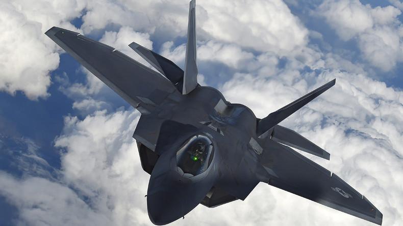 Syrien:  F-22 hinderte russische Su-25 Jets daran, Hilfskonvoi zu decken