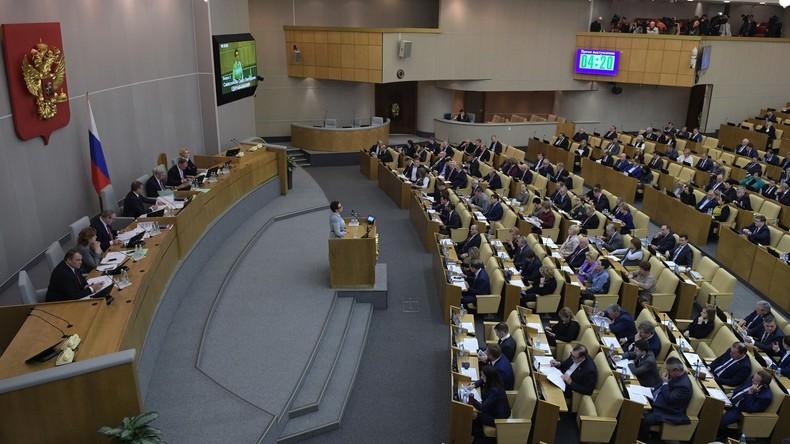 Russland: Staatsduma genehmigt endgültig lebenslange Haftstrafen für Terrorismus-Anwerber