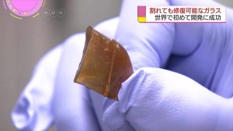 Japanische Wissenschaftler entwickeln neues Glas, das sich selbst reparieren kann