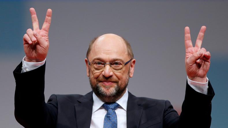 LIVE: Kommt die GroKo? Martin Schulz gibt Pressekonferenz nach Treffen in Berlin
