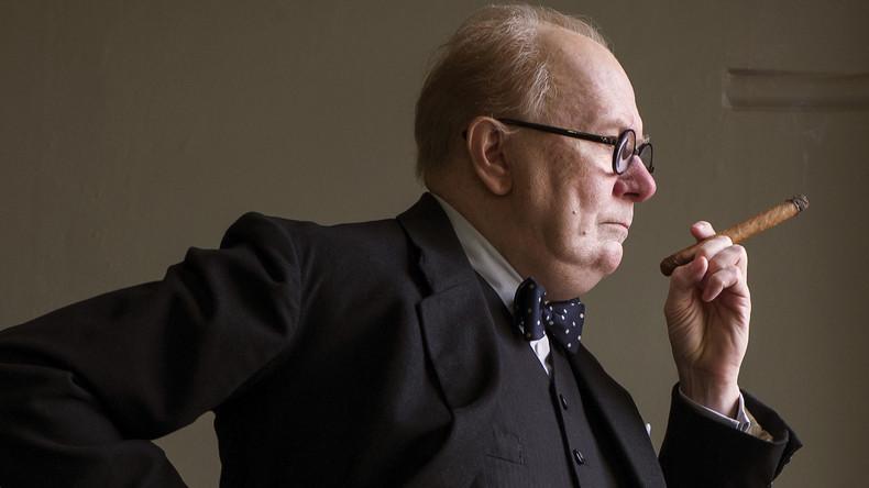Der Kunst wegen: Schauspieler, der Churchill spielte, rauchte 400 Zigarren und lebt