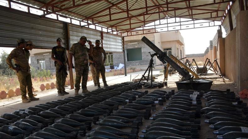 Britische Forscher: Waffenlieferungen der USA landeten beim Islamischen Staat