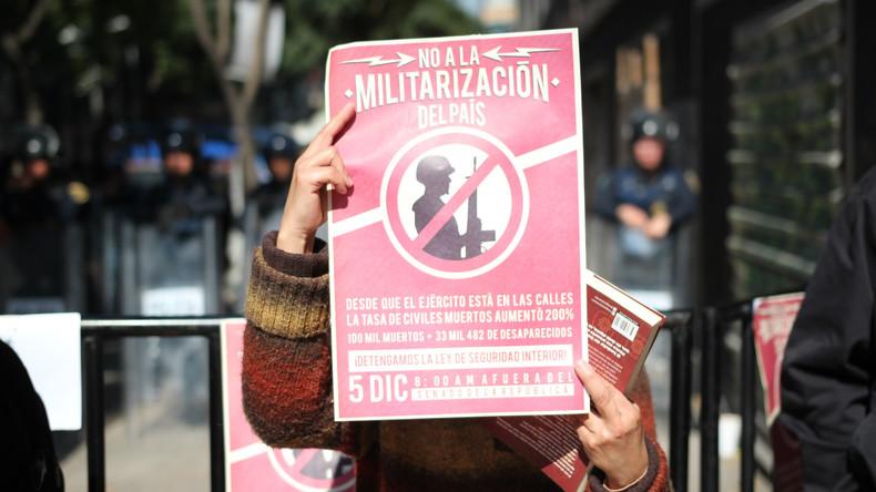 Verbrechensbekämpfung: Parlament in Mexiko beschließt umstrittenes Sicherheitsgesetz