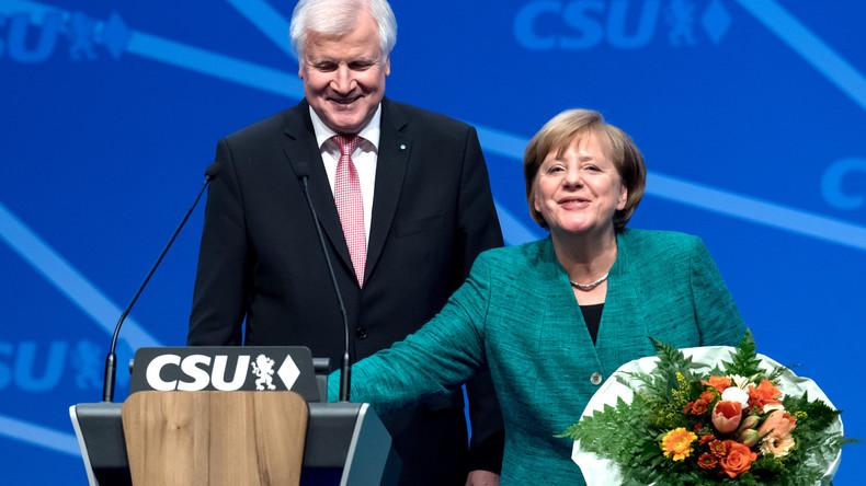 CSU-Parteitag in Nürnberg: Demonstrative Einigkeit mit der CDU