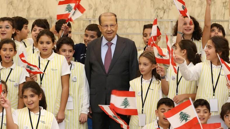 Libanons Präsident Michel Aoun im RT-Exklusiv-Interview über möglichen Krieg mit Israel