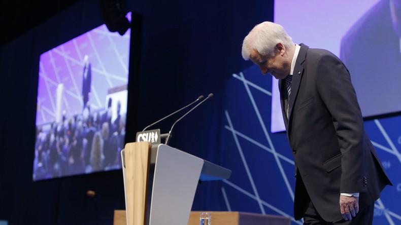 Horst Seehofer mit 83,7 Prozent als CSU-Chef wiedergewählt