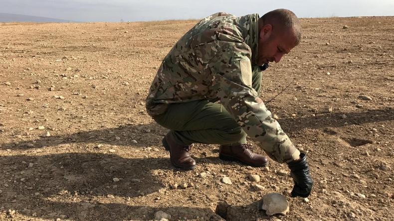 Zwei IS-Massengräber im Nordwesten des Iraks entdeckt