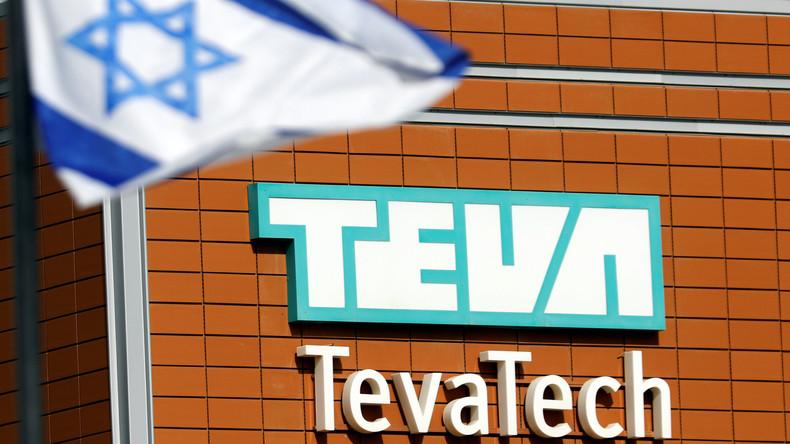 Streik in Israel - Protest gegen Stellenabbau bei Teva