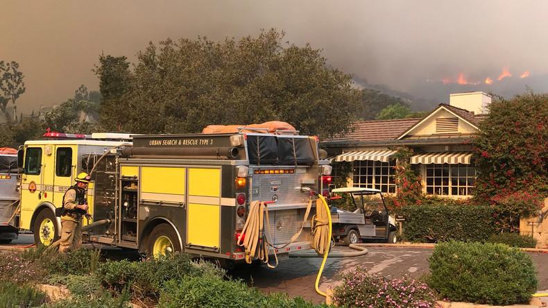 Weitere Räumungen wegen Buschbränden in Kalifornien