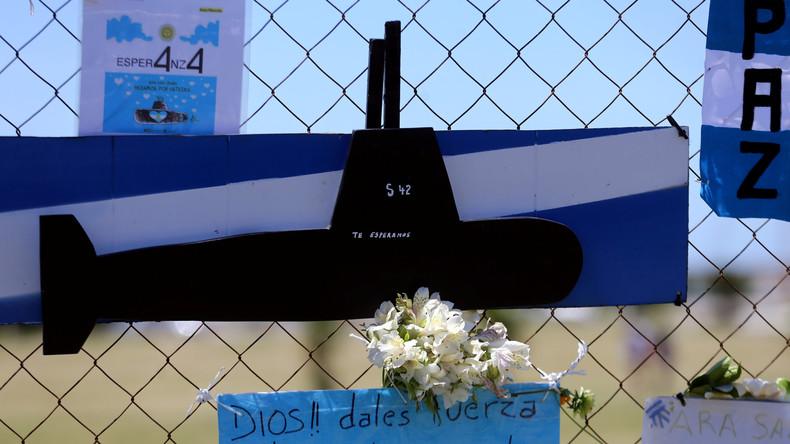 Argentinien feuert Admiral nach U-Boot-Unglück