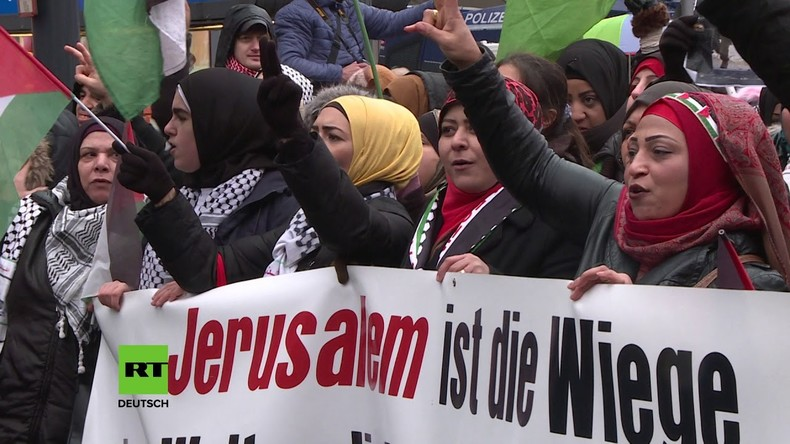 Berlin: Kundgebung in Solidarität mit Palästina