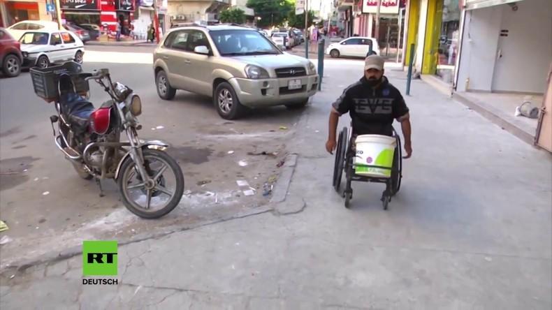 Palästina: Demonstrant im Rollstuhl von israelischen Truppen erschossen