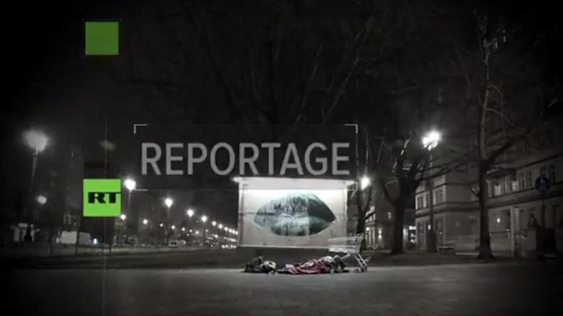 Das harte Leben auf der Straße -  RT Deutsch unterwegs mit dem Kältebus in Berlin