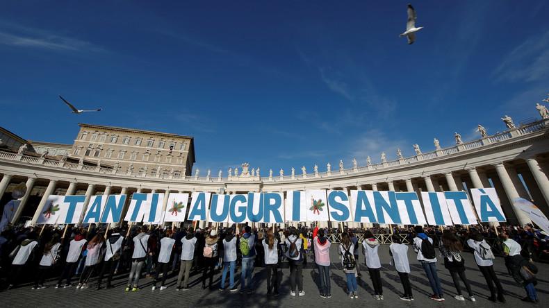 Papst Franziskus feiert 81. Geburtstag