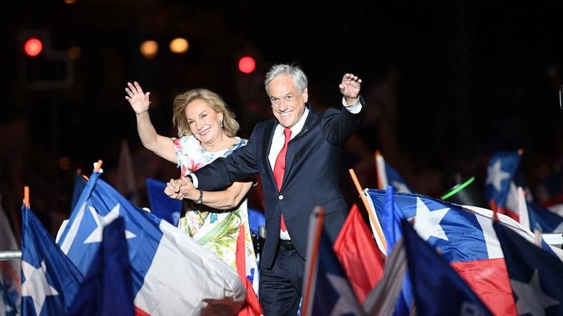 Piñera gewinnt Präsidentenwahl in Chile