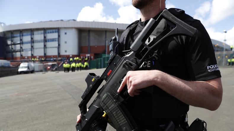 Kooperation zwischen russischer und britischer Polizei bei WM 2018