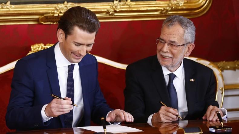 Neues Kabinett in Österreich vereidigt - Kurz ist Kanzler