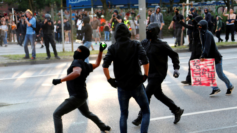 G20: Öffentliche Jagd auf mutmaßliche Randalierer