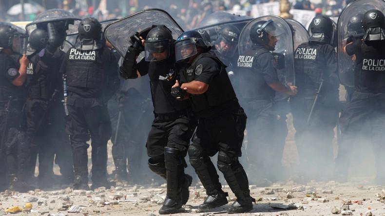 Proteste und Generalstreik gegen Rentenreform in Argentinien: Mindestens 80 Verletzte