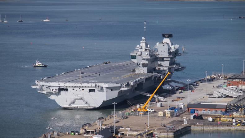 Leck im brandneuen und 4,1 Milliarden US-Dollar teuren britischen Flugzeugträger entdeckt