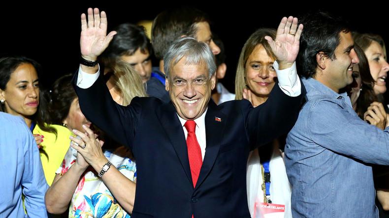 Stichwahl in Chile: Neuer Präsident ist der Rechtskonservative Sebastian Piñera