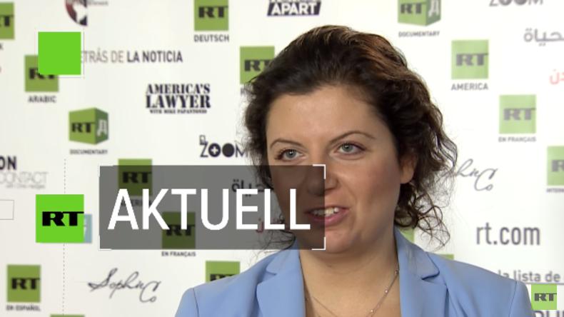 """Margarita Simonjan: """"Wir freuen uns, RT France als Fernsehsender zu eröffnen"""" [Video]"""