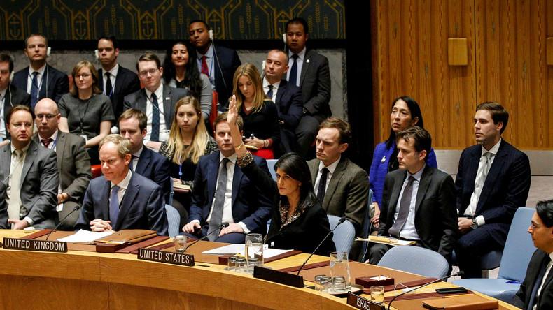 Einer gegen alle: USA blockieren UN-Resolution gegen Anerkennung Jerusalems als Israels Hauptstadt