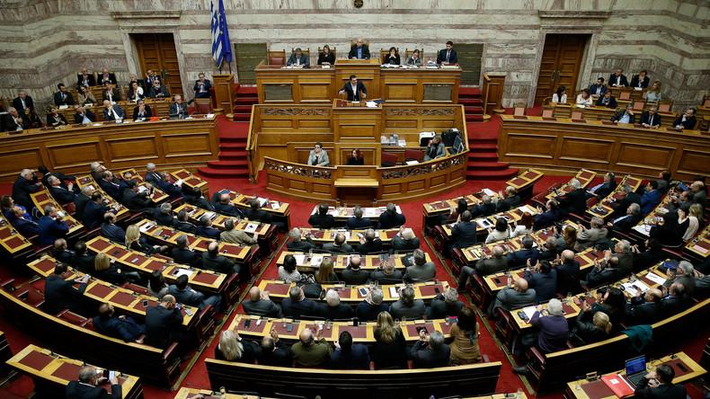 Griechisches Parlament billigt Haushalt 2018- prognostiziertes Wirtschaftswachstum von 2,5 Prozent