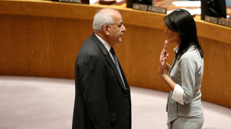 Jerusalem-Abstimmung bei den UN – USA will Namen von Gegnern notieren