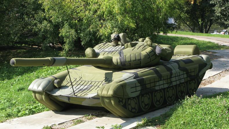Nachfrage nach aufblasbaren Panzern und Raketen nimmt weltweit zu