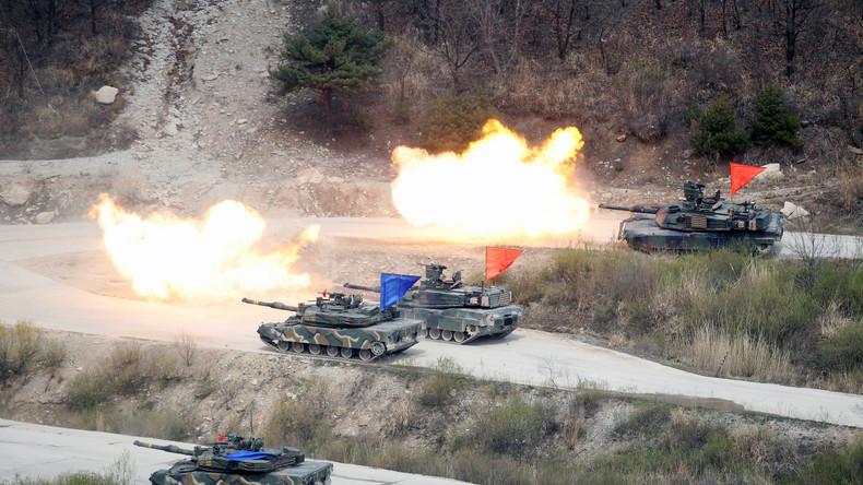 """USA sind """"bereit für Krieg mit Nordkorea"""" [Video]"""
