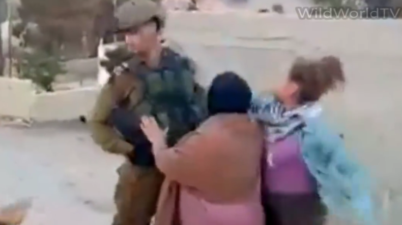 Israel nimmt bekannte palästinensische Demonstrantin nach Angriff auf israelischen Soldaten fest