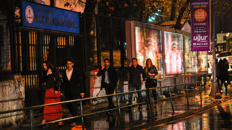 Ein Jahr nach Terroranschlag auf Nachtclub: Silvesterfeiern in Zentrum Istanbuls verboten