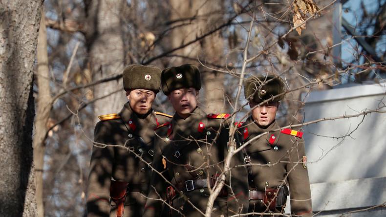 Südkoreanisches Militär feuert Warnschüsse auf Nordkoreaner ab