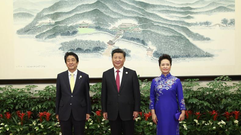Japans Premier Shinzo Abe will chinesisch-japanische Beziehungen auf eine neue Stufe heben