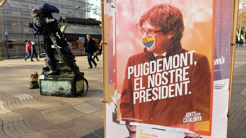 Impressionen von den Wahlen in Katalonien