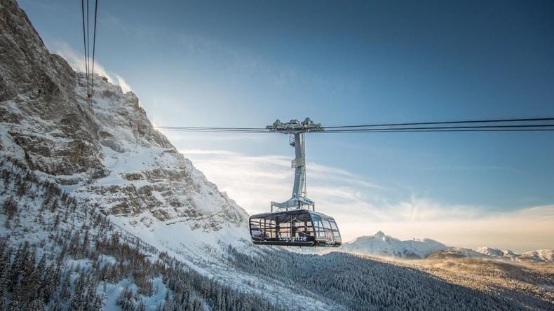 Neue Seilbahn zur Zugspitze eingeweiht