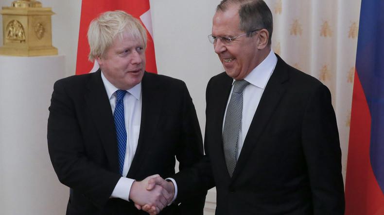 LIVE ab 10 Uhr: Lawrow und Boris Johnson halten gemeinsame Pressekonferenz in Moskau